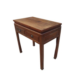 19th Century Country Style Wooden Side Table