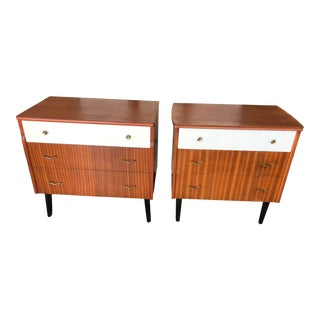 1960s Mid-Century Teak Chests - a Pair For Sale