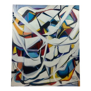 Deon Robertson Abstract Flight Oil on Canvas For Sale