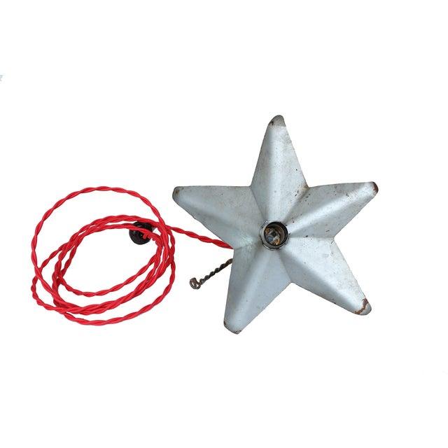Aluminum Star Pendant Light - Image 3 of 4