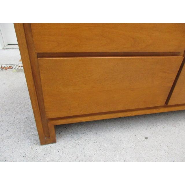 Leslie Diamond For Conant Ball Nine Drawer Dresser For Sale - Image 6 of 10