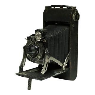 Leather Wrapped Eastman Kodak Fold Out Land Camera, Circa 1920s