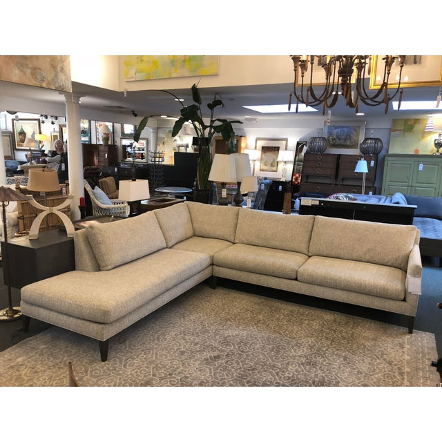 New Thayer Coggin Notti Sectional - Image 2 of 11