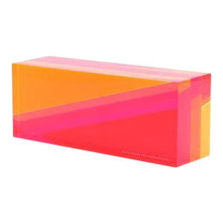 Alexandra Von Furstenberg | Brick Objet in Sunset For Sale