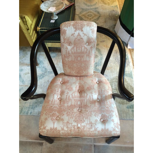 Heritage Chinoiserie Accent Chair - Image 3 of 10