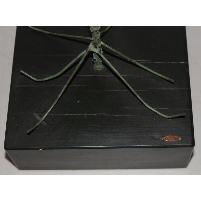 Copper 1960s Copper Metalwork Free Standing Tree by Curtis Jere For Sale - Image 8 of 9