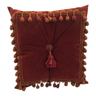 Custom-Made Large Square Decorative Pillow For Sale