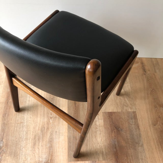 Wood 1960s Vintage Rosewood Dining Chairs by Erik Buch (Model 89) - Set of 4 For Sale - Image 7 of 13