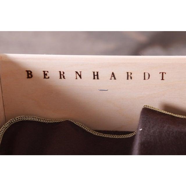 Bernhardt Mediterranean Style Maple Buffet Bar Server For Sale - Image 12 of 13