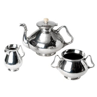 Duchess of Sutherland Silver Plate Tea Service For Sale