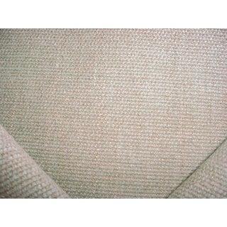 Modern Ralph Lauren Havens Burlap Sage Linen Tweed Upholstery Fabric- 6 Yards For Sale