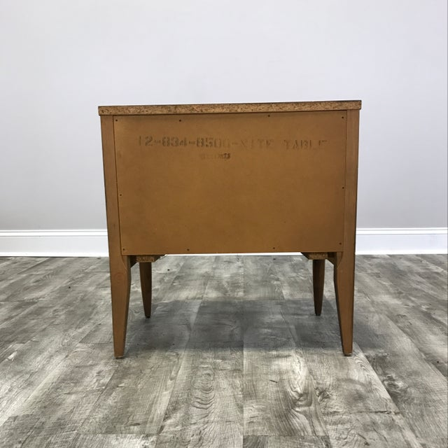 Basic Witz Mid Century Nightstands - a Pair - Image 8 of 11