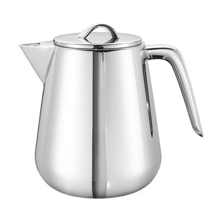 Georg Jensen Modern Helix Tea Pot For Sale