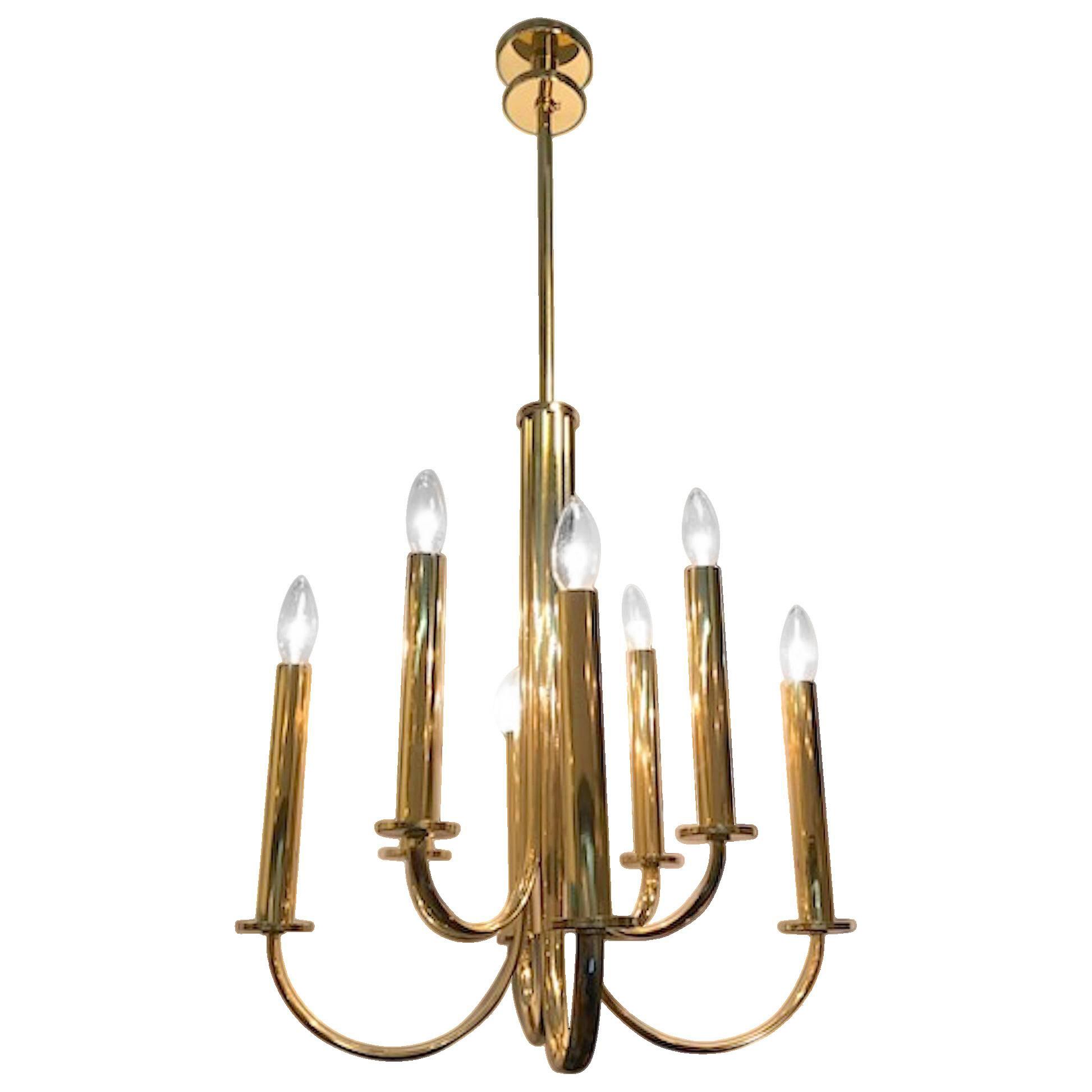 Picture of: Vintage New Art Deco Pendant Lighting Chairish