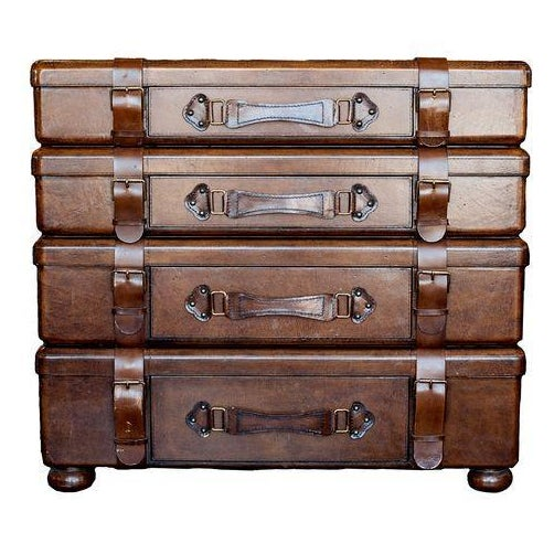 Leather Stack Leather Chest by Lexington - Image 1 of 5