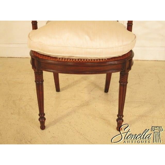 2010s Theodore Alexander Pair Regency Mahogany Arm Chairs #4100-236 For Sale - Image 5 of 11