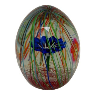 Murano Glass Paperweight For Sale