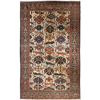 "Antique Persian Baktiar carpet 10' 11"" x 17' 5"""