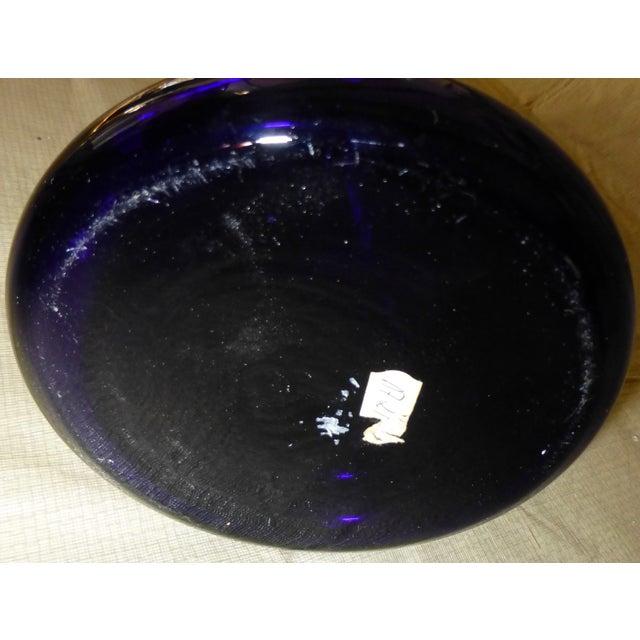 Large Cobalt Blue Flower Vase - Image 5 of 7