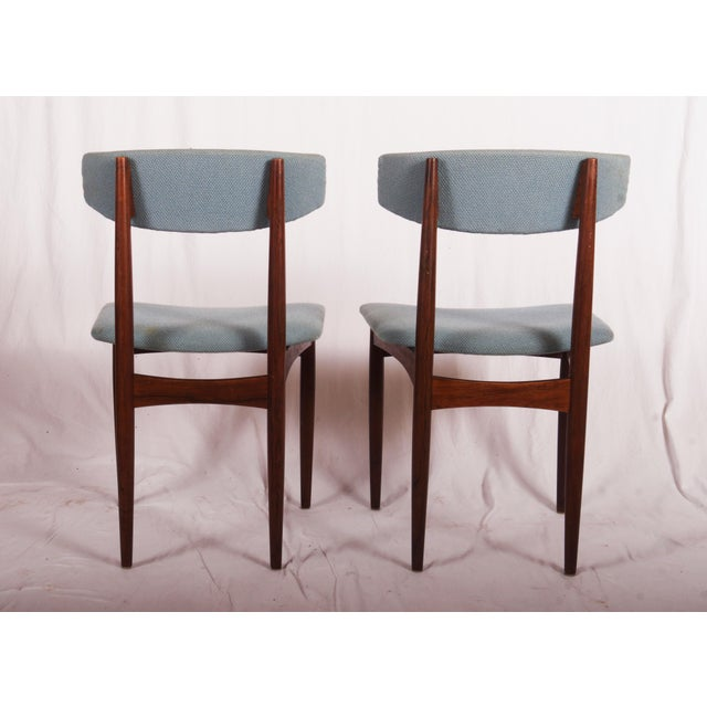 Mid-Century Modern Midcentury Danish Dining Chairs For Sale - Image 3 of 9
