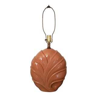 Vintage 1980s Ceramic Lamp For Sale