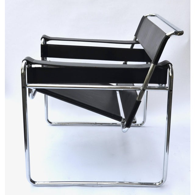 Mid-Century Modern 1970s Marcel Breuer Wassily Chair by Knoll For Sale - Image 3 of 12