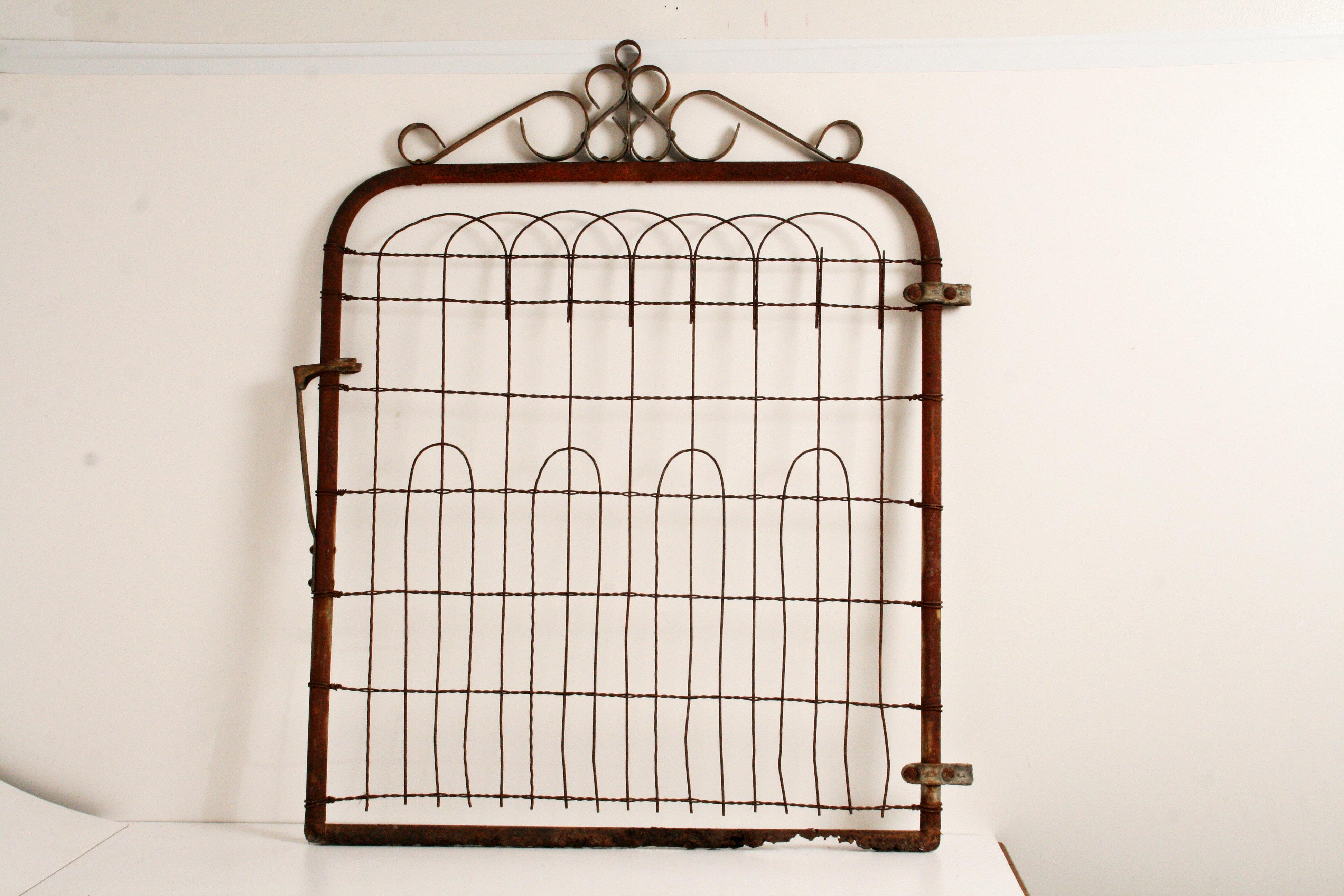 Victorian Garden Gate Vintage Rustic Fence For Sale   Image 6 Of 11