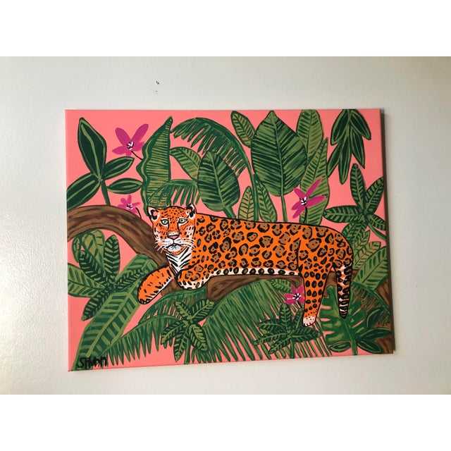 This painting is called Jaguar in the Wild. I wanted to capture the beauty of the Jaguar in its habitat while giving my...