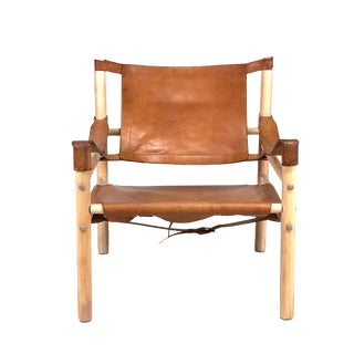 1960s Vintage Safari Chair For Sale