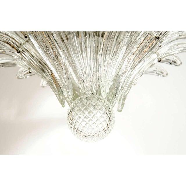 Exquisite Five-Tier Palma Murano Glass Chandelier - Image 7 of 9