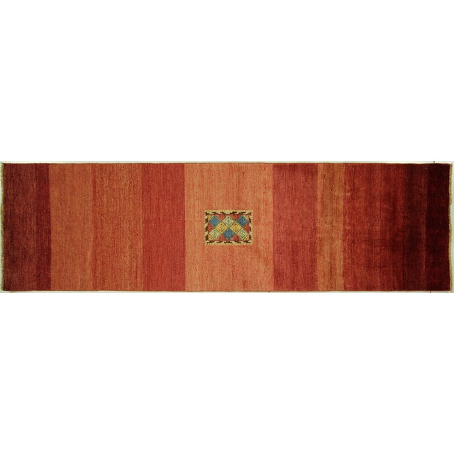 Modern Collection Gabbeh Runner - 2′9″ × 10′ For Sale