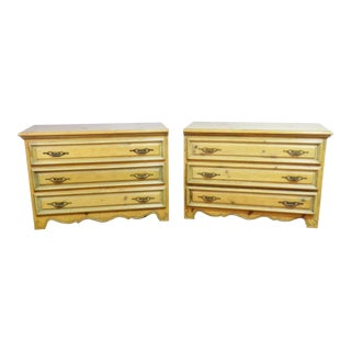 Pair of Pine Commodes