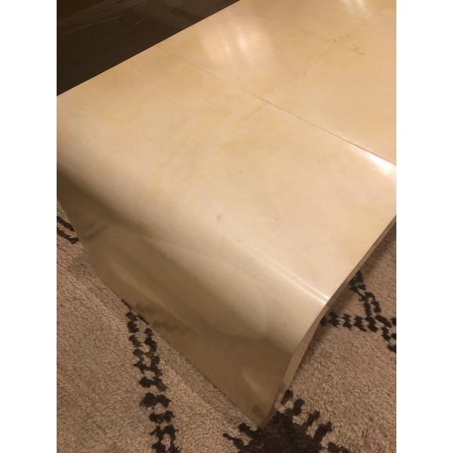 Goatskin Waterfall Table For Sale - Image 4 of 7
