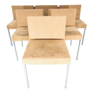 Modern Italian Tacchini Dining Chairs- Set of 6 For Sale
