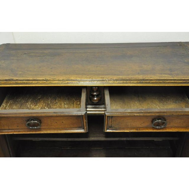 French Louis XIII Carved Walnut Buffet For Sale In Dallas - Image 6 of 8