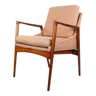 Ib Kofod Larsen Model 70-15 Occasional Chair for Selig, Denmark For Sale