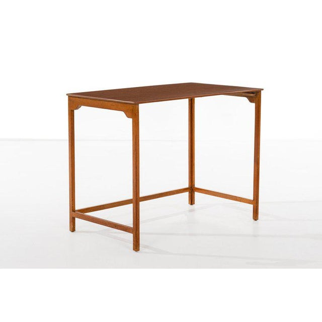 Dunbar Furniture Edward Wormley Nesting Tables For Sale - Image 4 of 7