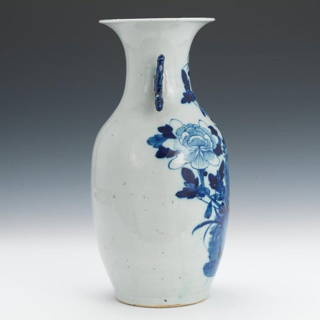 "Blue & White 16"" Chinese Porcelain Vase - Image 2 of 6"