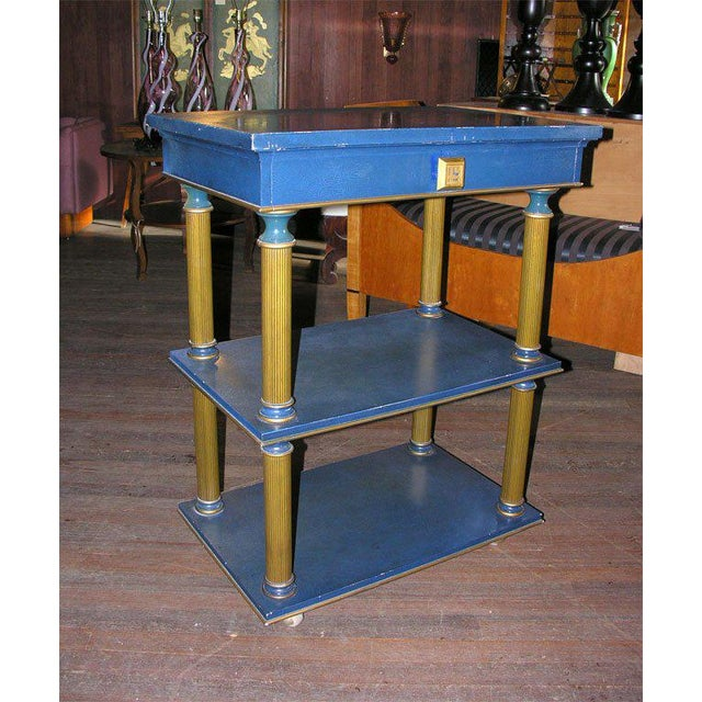 Traditional 1960s Vintage James Mont Stand Table For Sale - Image 3 of 15