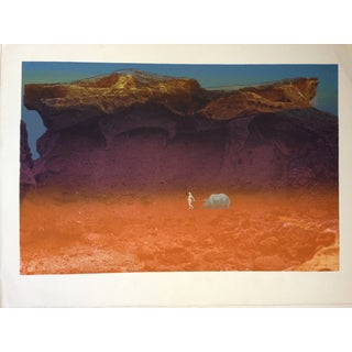 Serigraph Landscape by Robert W. Brown For Sale