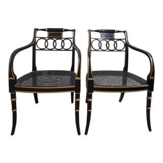 Baker Governor Alston Chairs - a Pair For Sale