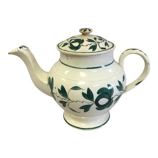 Antique Porcelain Tea Pot For Sale
