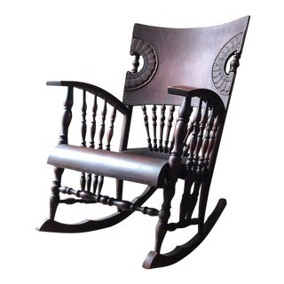 Late 20th Century Victorian Rocking Chair For Sale