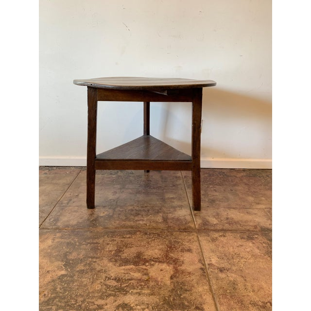 Late 19th Century Antique French Farm Side Table For Sale - Image 5 of 5