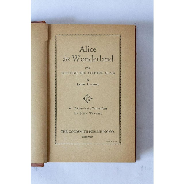 1910s 1910 Antique Alice in Wonderland Book For Sale - Image 5 of 7