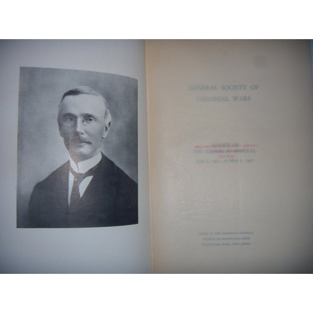 Antique 1896 - 1927 Society of Colonial Wars Books - S/9 - Image 9 of 11
