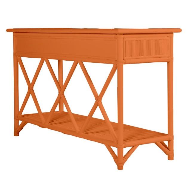 David Francis Aruba Sideboard - Orange For Sale - Image 4 of 6