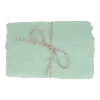 Mint Linen Tablecloth 170 x 250 For Sale
