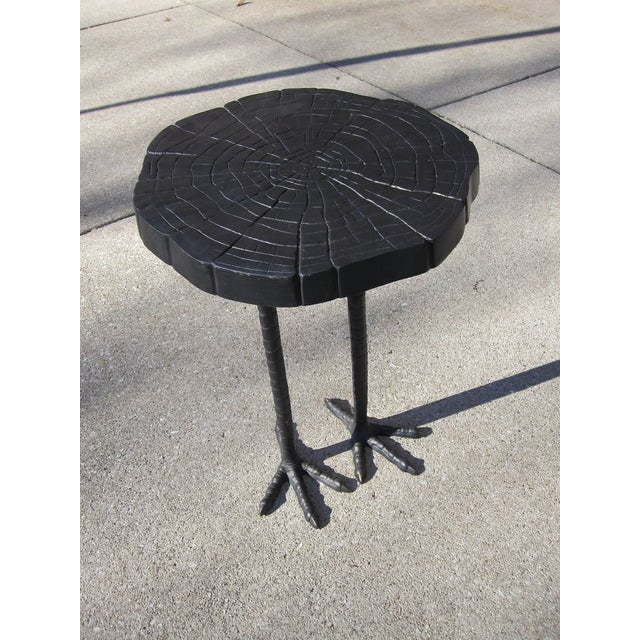Iron Ostrich Side Table - Image 3 of 3