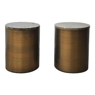Paul Mayen Storage Side Tables For Sale
